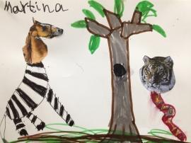 Animales surrealistas Martina