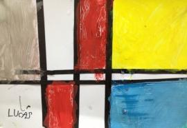 Mondrian para niños 2