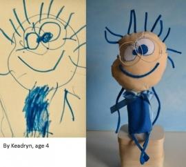 muñeco dibujo niño 2