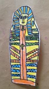 Sarcofago egipcio Mateo