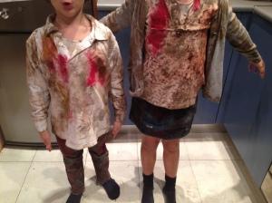 Ropa de zombie